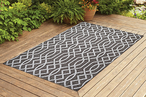 Contemporary Indoor/Outdoor Sisal Area Rug Ribon Collection