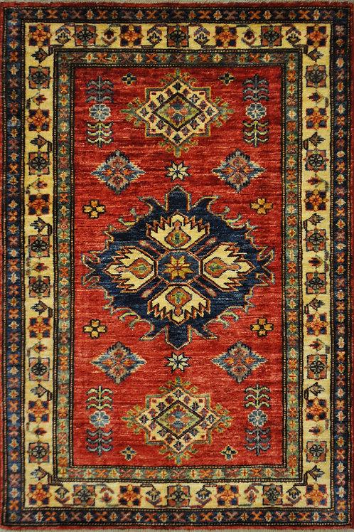 """3403 KAZAK 2' 9"""" X  4' 0"""" Wool"""
