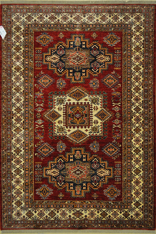 "5765 SUPER KAZAK 5' 6"" X 7' 9"" Wool"