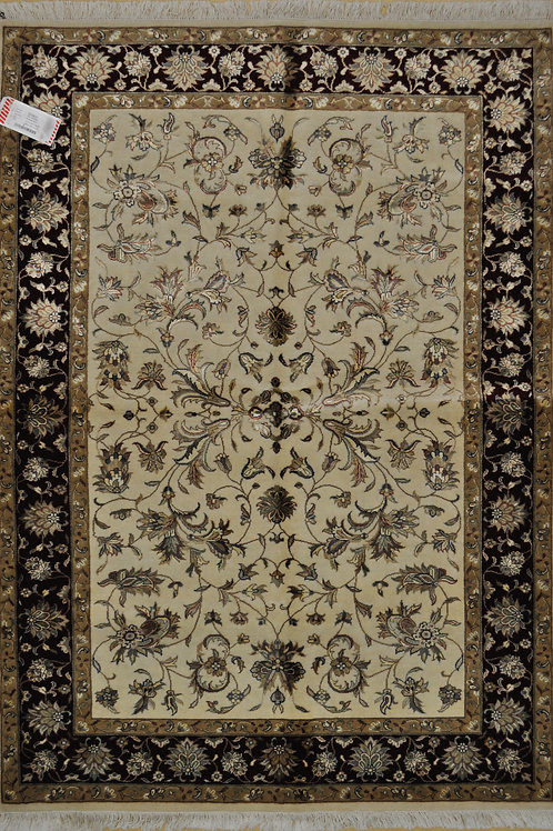 "3431 SULTAN 14/14  4' 2"" X  5' 11"" Wool & Artificial Silk"