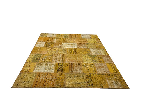 "1462 PATCHWORK 8' 10"" X 11' 9"" Wool"