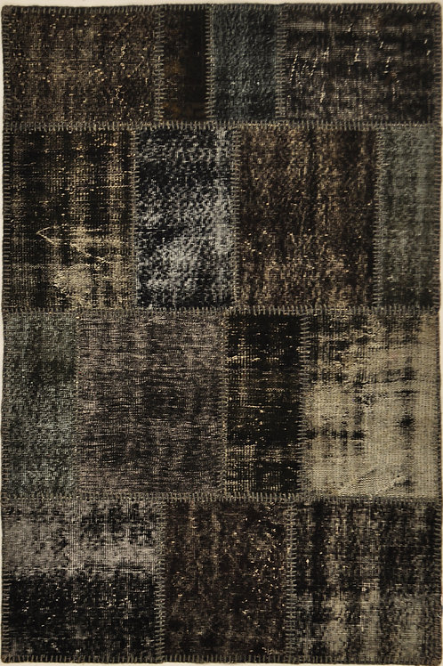 "1029 PATCHWORK 3' 11"" X 6' 5"" Wool"
