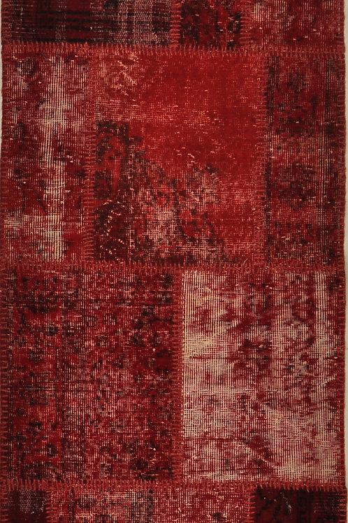 "637 PATCHWORK 2' 7"" X 9' 11"" Wool"