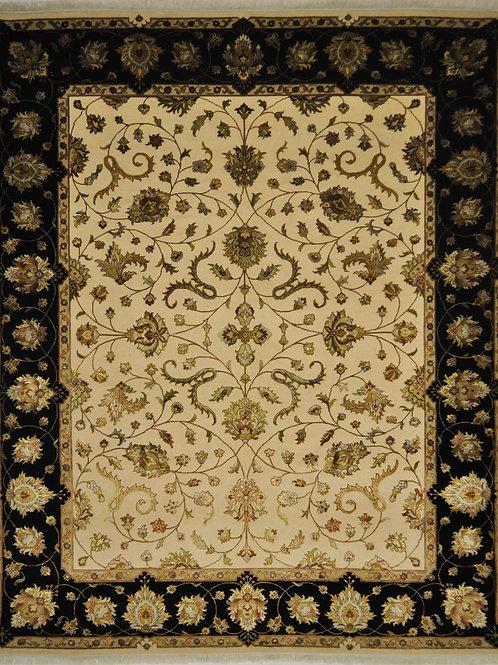 "4358 SULTAN10/10 7' 11"" X 9' 8"" Wool & Artificial Silk"