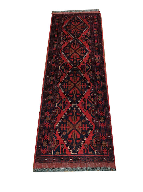 "10723 Turkishkmen 1' 8"" X  4'10"" Wool India Area Rug"