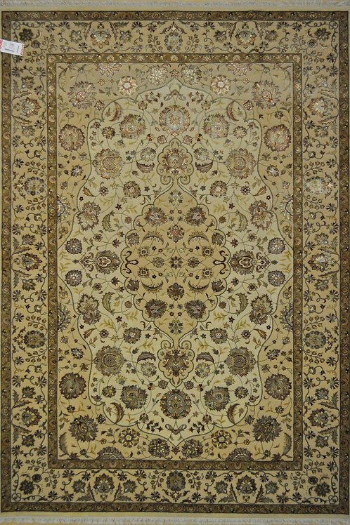 "3495 SULTAN 14/14  6' 2"" X  8' 11"" Wool & Artificial Silk"
