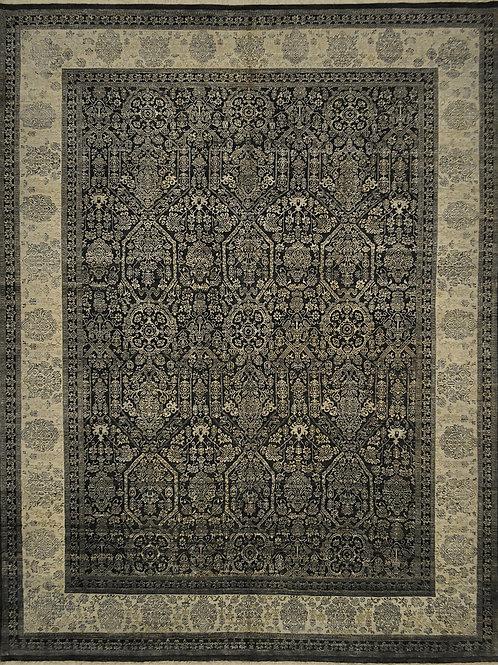 "6174 F PRODUCT 8' 2"" X 10' 8"" Wool & Artificial Silk"