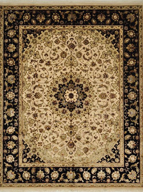 "4189 SULTAN10/10 7' 10"" X 9' 10"" Wool & Artificial Silk"