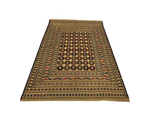 """10768 Mush Kilim 3'11"""" X  6' 3"""" Wool Pakistani Area Rug"""