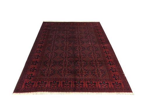 "10885 Kunduz 6' 1"" X  8' 8"" Wool Afg Area Rug"