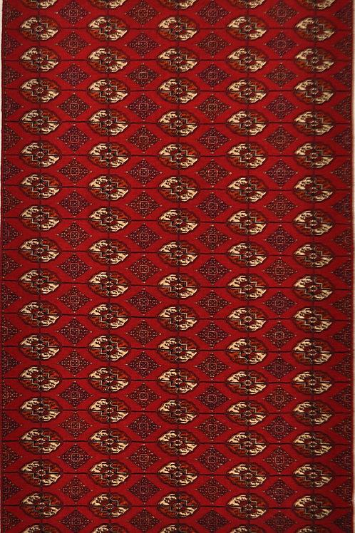 """4045 BUHARA 4' 6"""" X 7' 9"""" Wool"""