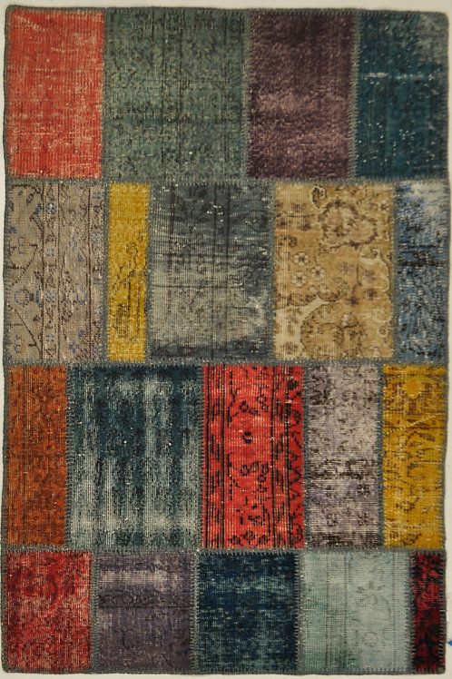 "1200 PATCHWORK 3' 11"" X 5' 11"" Wool"