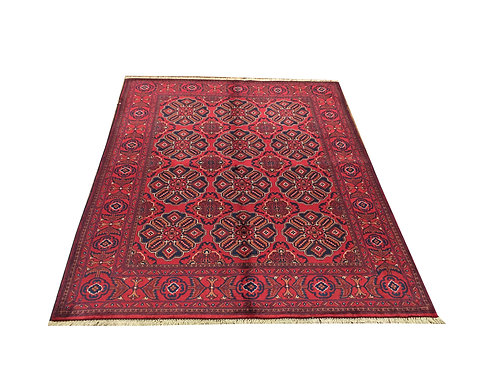 "10719 Kunduz 5' 0"" X  6' 3"" Wool Afg Area Rug"