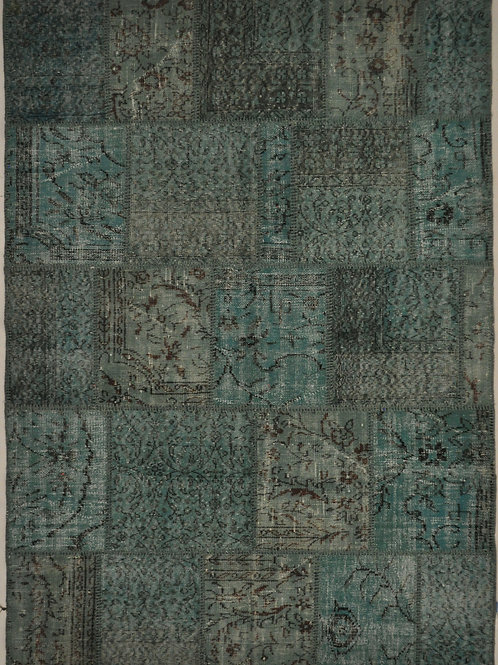 "1193 PATCHWORK 5' 7"" X 7' 10"" Wool"