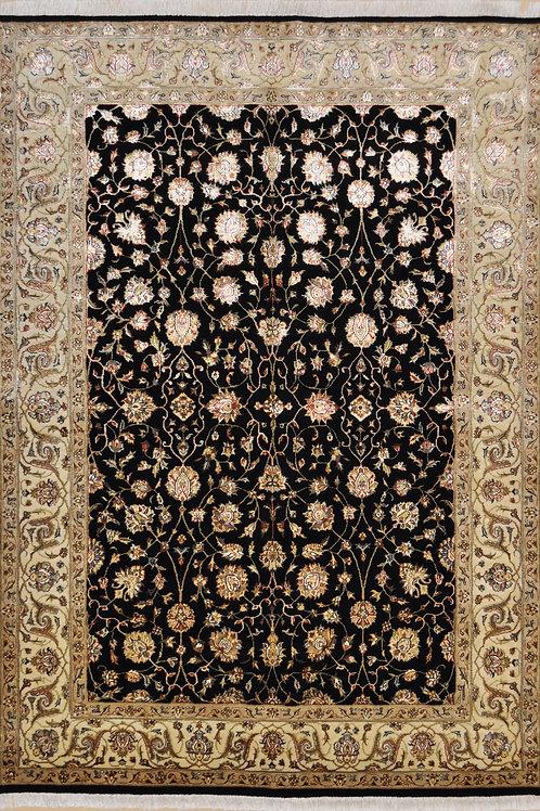"2436 SULTAN14/14 4' 11"" X  6' 11"" Wool & Artificial Silk"