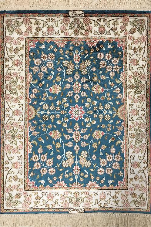 "5985 Imzali 1' 7"" X  2' 3"" Artificial Silk"