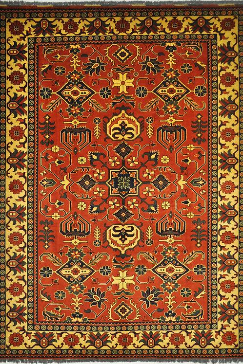 """6011 TURKMEN 7' 1"""" X 9' 6"""" Wool"""