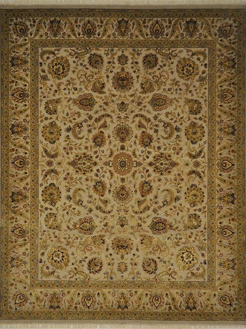 """4042 AURORA 7' 11"""" X 10' 1"""" Wool & Silk"""