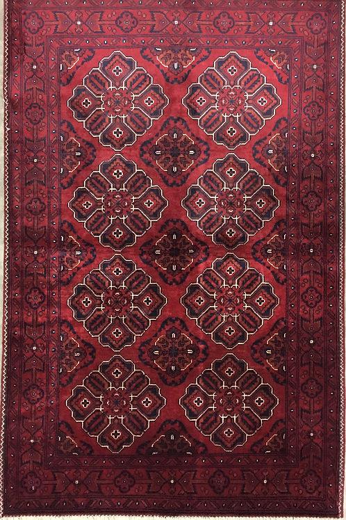 "10339 Kunduz 3' 2"" X  5' 0"" Wool Afg Area Rug"