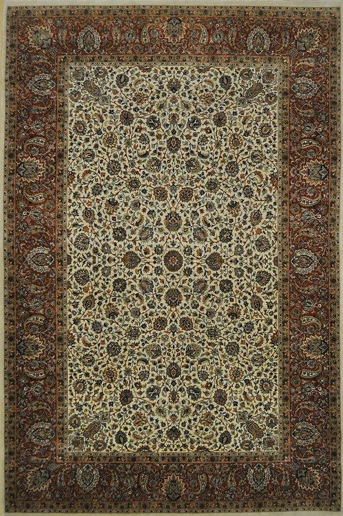 """6376 HAREM FINE 5' 6"""" X  8' 4"""" Wool & Artificial Silk"""