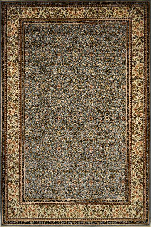 """1748 INDIAHEREKE 6' 10"""" X 10' 3"""" Wool"""