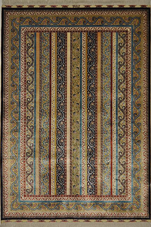 "6554 CEZAEVI 4' 6"" X 6' 7"" Artificial Silk"