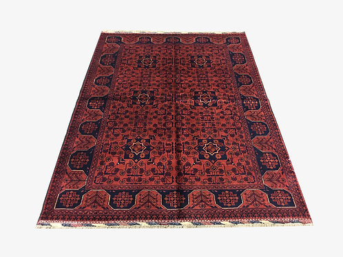 "10564 Kunduz 4' 1"" X  5' 7"" Wool Afg Area Rug"