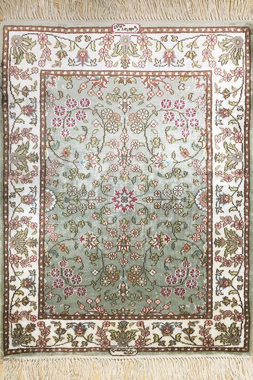 "5009 Imzali 1' 7"" X  2' 3"" Artificial Silk"