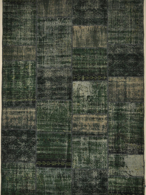 "1386 PATCHWORK 5' 6"" X 7' 10"" Wool"