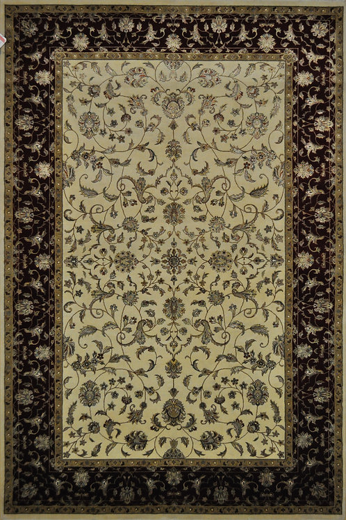"3847 SULTAN 14/14  6' 1"" X  9' 1"" Wool & Artificial Silk"