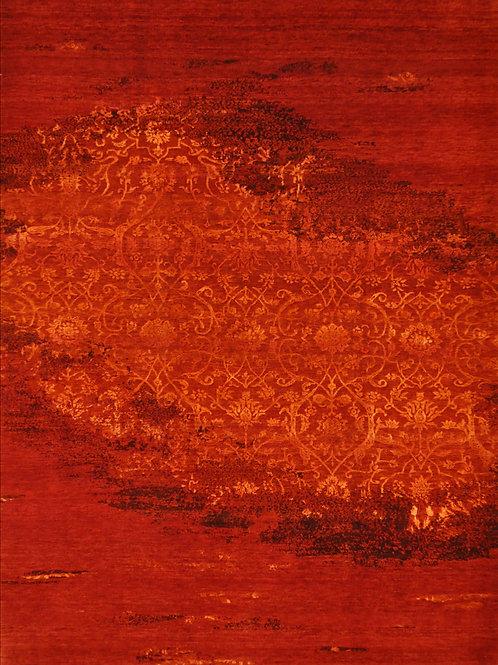 "4092 PERISMO 5' 6"" X 6' 9"" Wool &Artificial Silk"