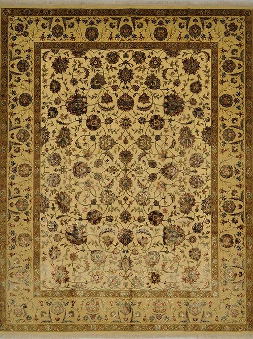"4107 SULTAN10/10 7' 11"" X 10' 1"" Wool & Artificial Silk"