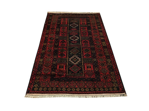 "10325 Belluchi 3' 3"" X  5' 8"" Wool Pakistani Area Rug"