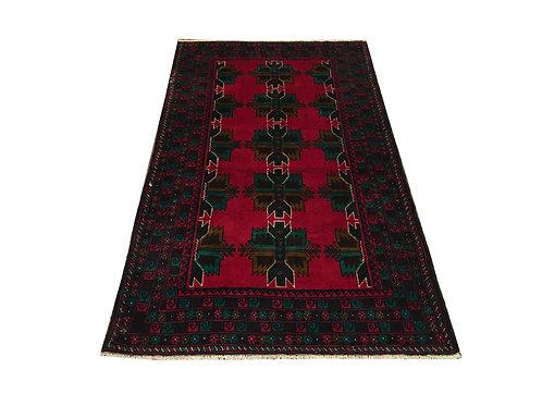 "10811 Belluchi 3' 4"" X  5'11"" Wool Pakistani Area Rug"
