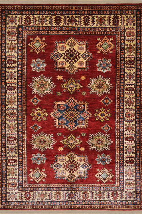 "5895 SUPER KAZAK 4' 9"" X  6' 7"" Wool"