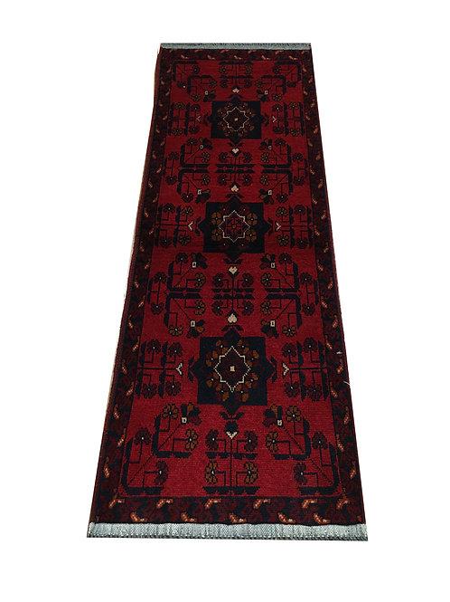 "10239 Turkishkmen 1' 7"" X  4' 9"" Wool Afg Area Rug"