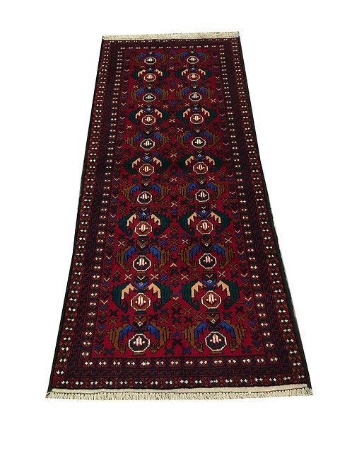 "10263 Belluchi 2' 7"" X  6' 7"" Wool Pakistani Area Rug"