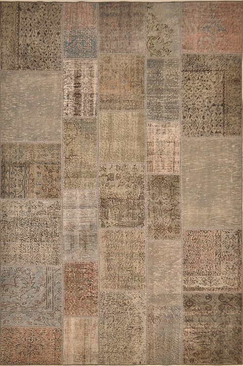 "6680 PATCHWORK 6' 7"" X 9' 10"" Wool"