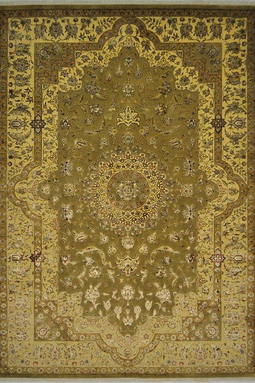 "3838 SULTAN14/14 7' 1"" X 9' 11"" Wool & Artificial Silk"