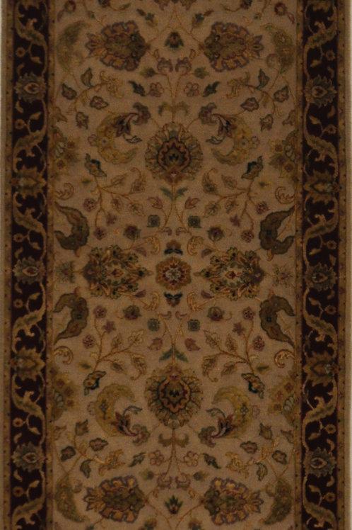 """4218 AURORA 2' 6"""" X 8' 5"""" Wool & Silk"""