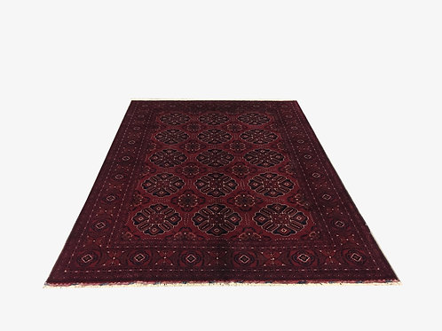 "10205 Kunduz 6' 0"" X  8' 5"" Wool Afg Area Rug"
