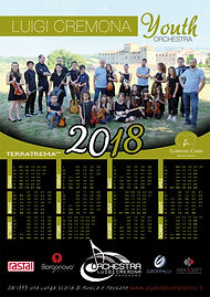 calendario Luigi Cremona Youth Orchestraa