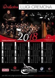 calendario Luigi Cremona Youth Orchestra