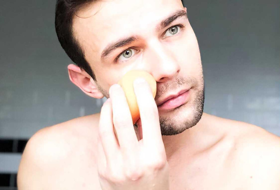 Men's Makeup Blending Sponge Set