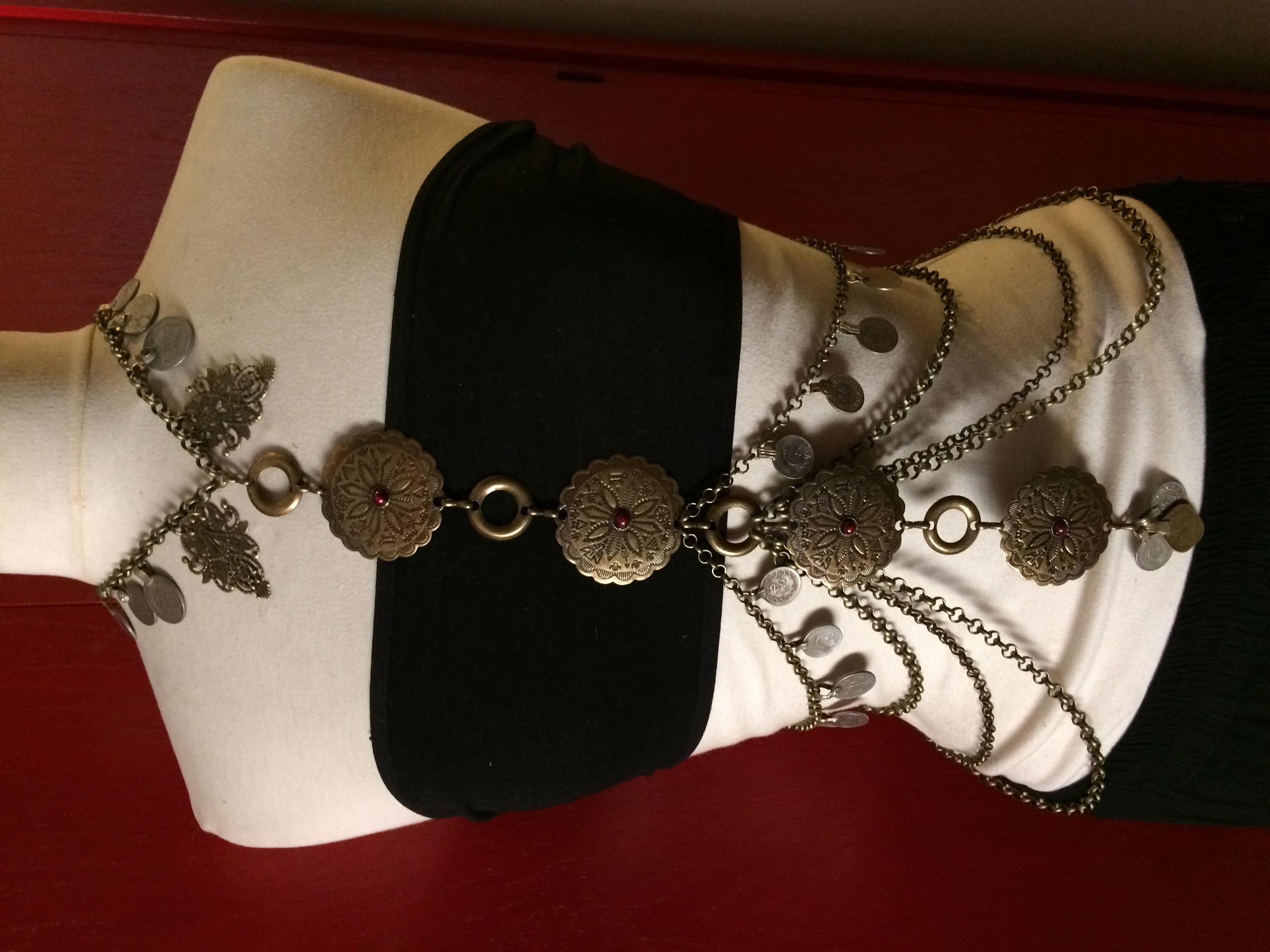 Grecian body drape