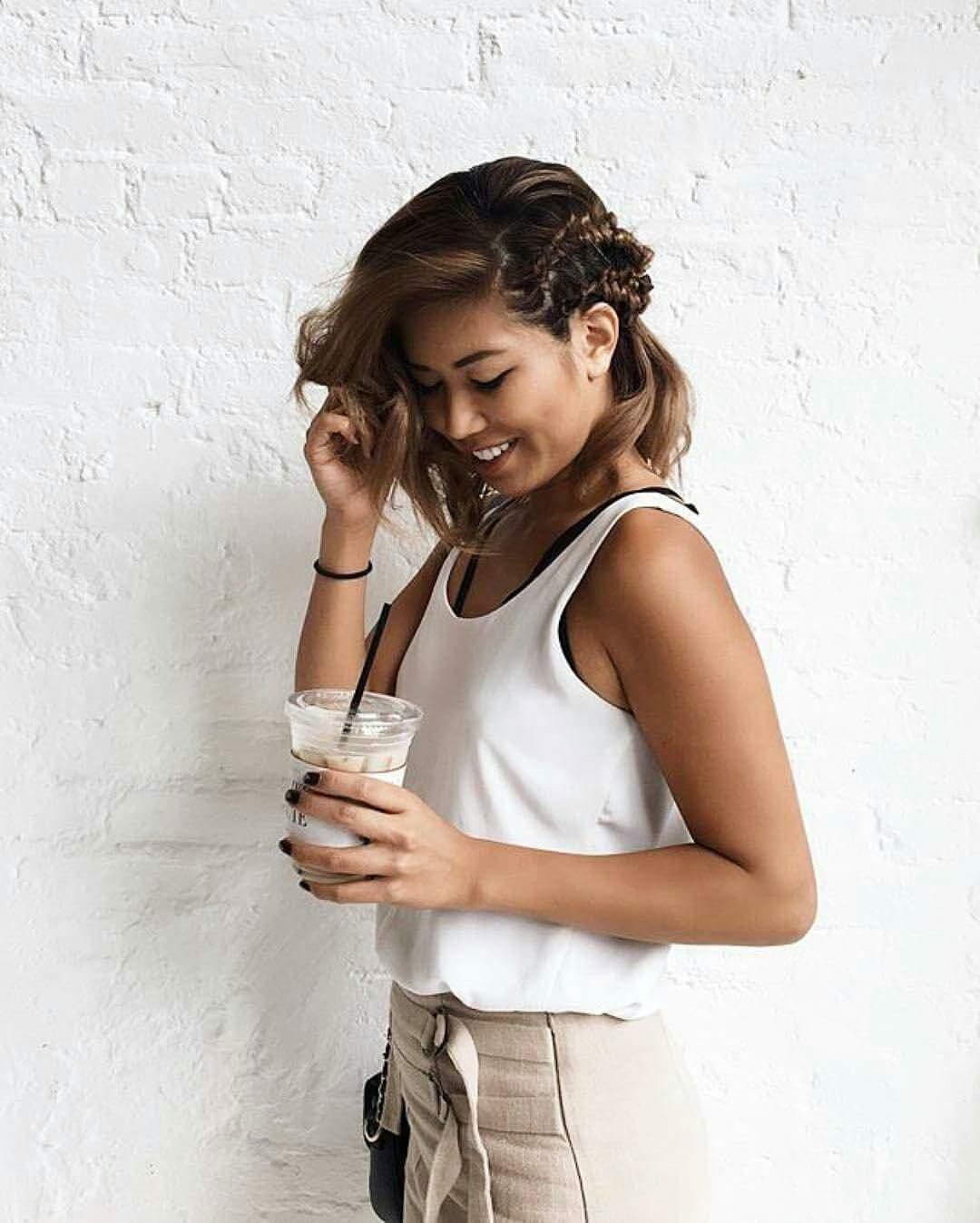 blogger braids