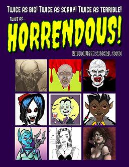 HORRENDOUS MAGAZINE Volume 2