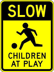 Slow - Children at Play sign.jpg