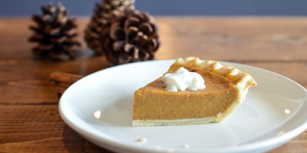 Thanksgiving Pie Pregame