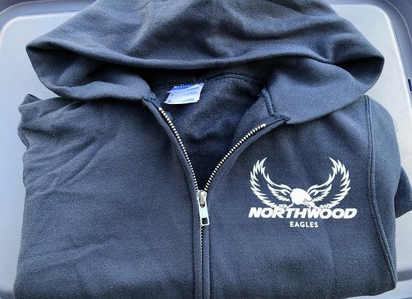 Sweatshirt; front zip hoodie Kids